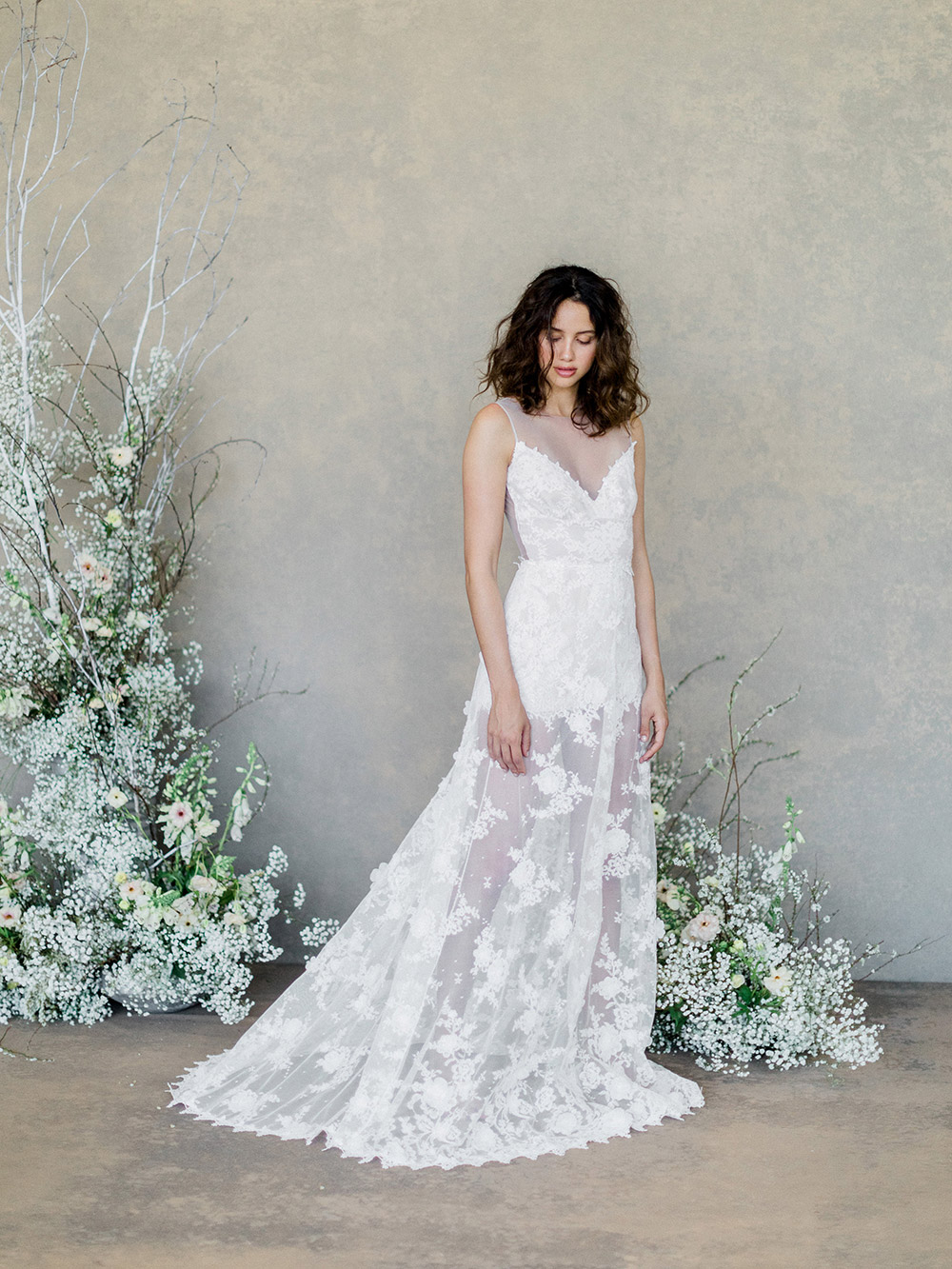 Dove – Claire Pettibone Spring 2019 Bridal Collection. www.theweddingnotebook.com