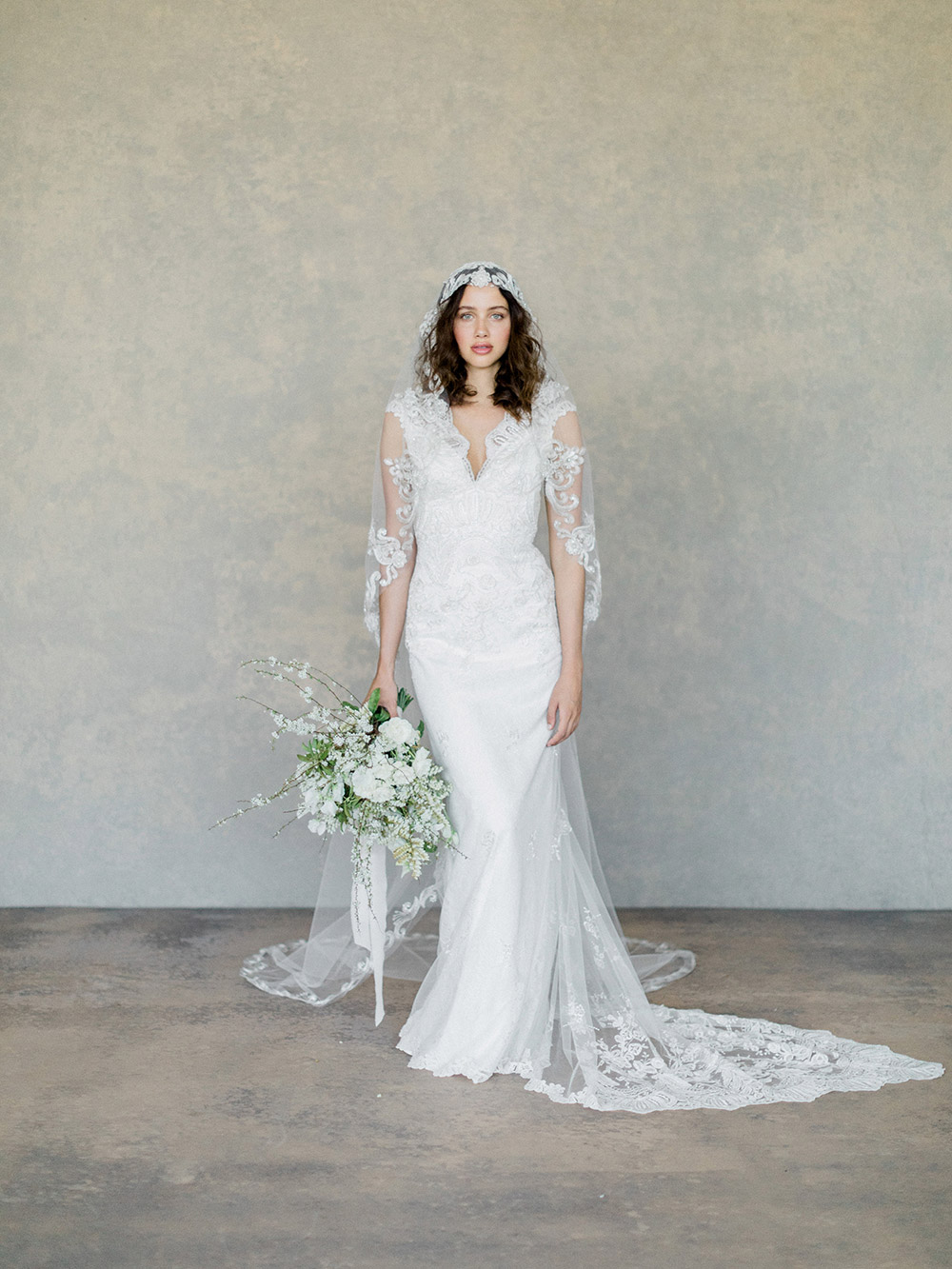 Horizon – Claire Pettibone Spring 2019 Bridal Collection. www.theweddingnotebook.com