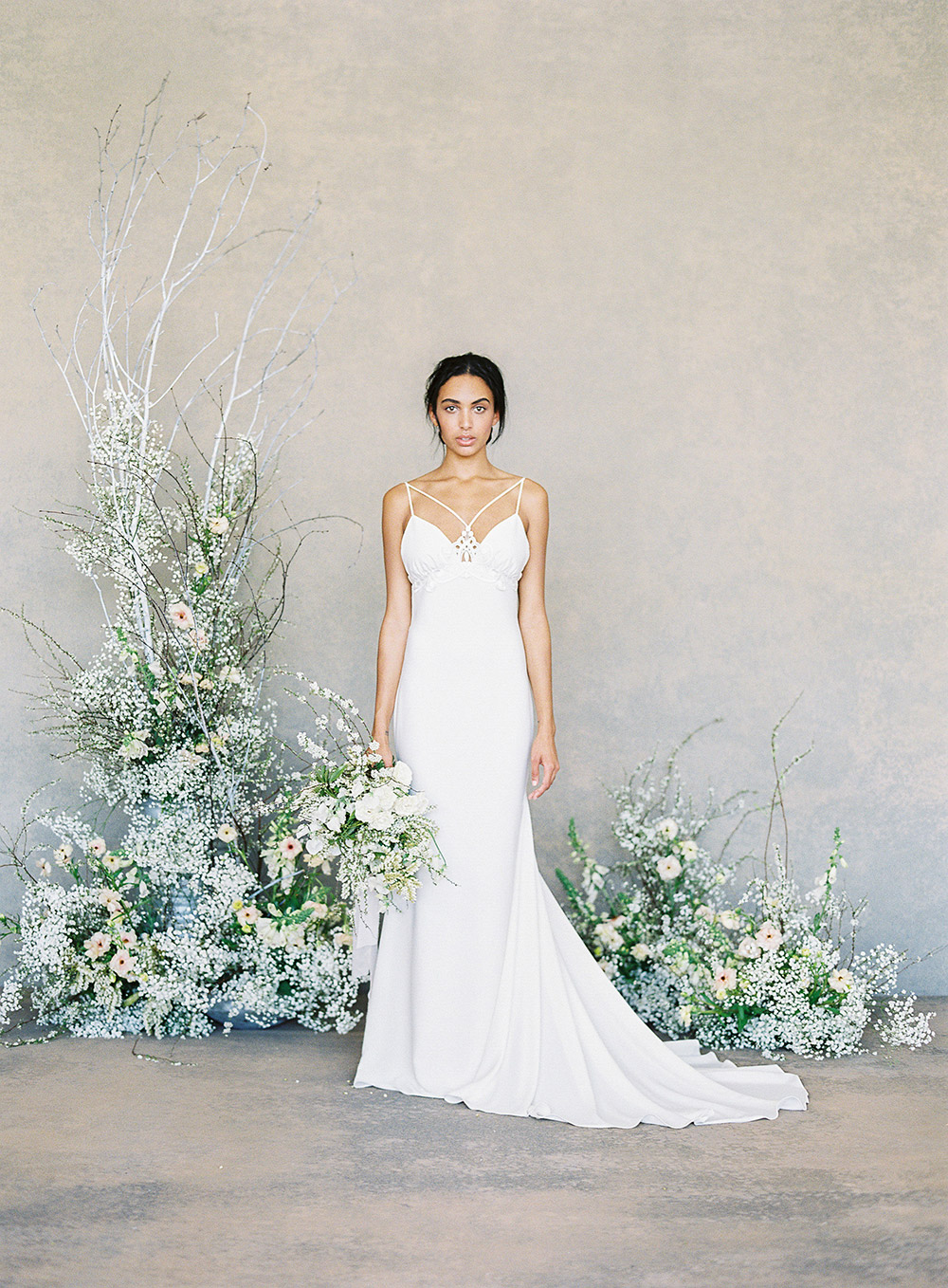 Lotus – Claire Pettibone Spring 2019 Bridal Collection. www.theweddingnotebook.com