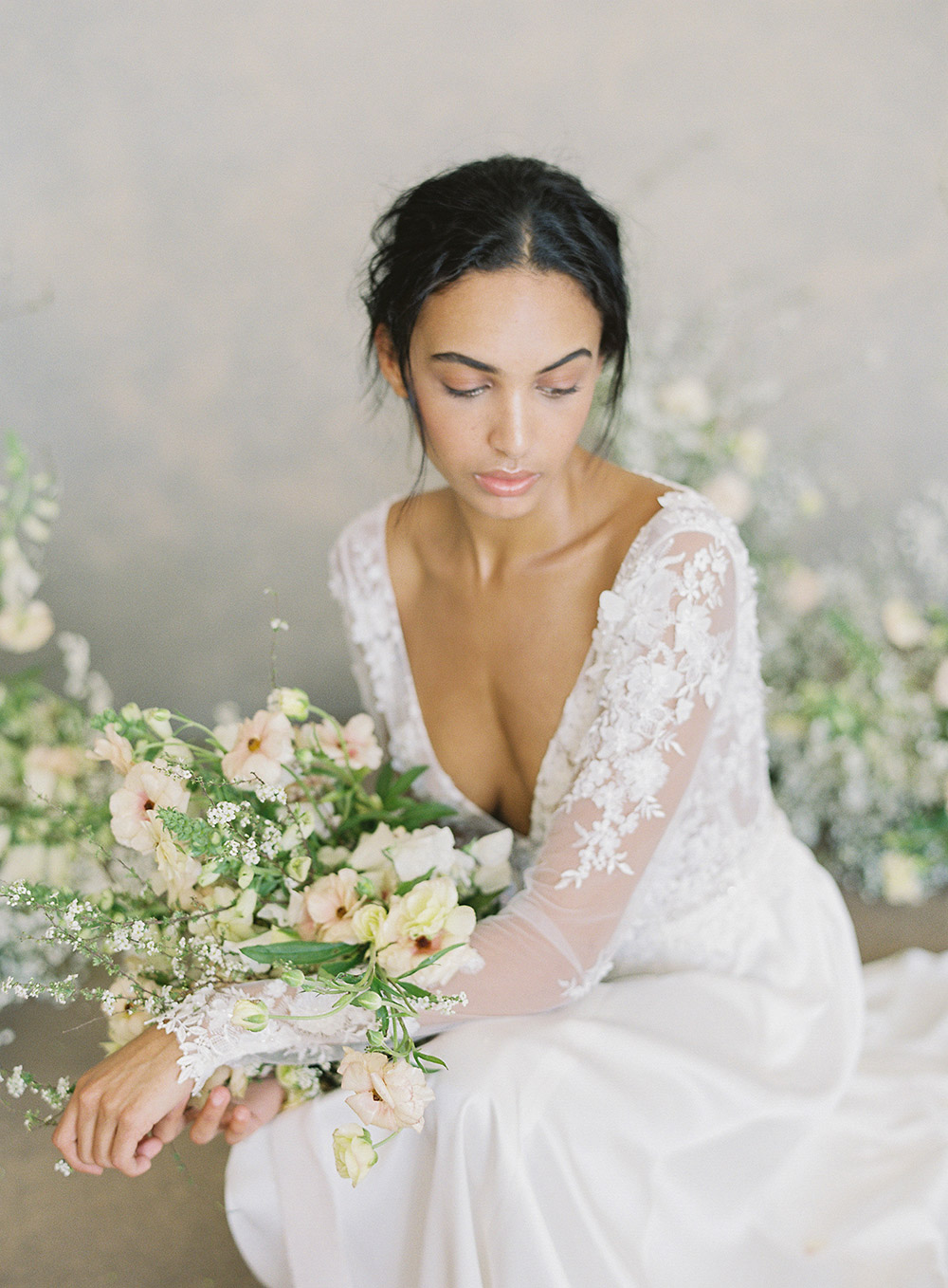 Santorini – Claire Pettibone Spring 2019 Bridal Collection. www.theweddingnotebook.com