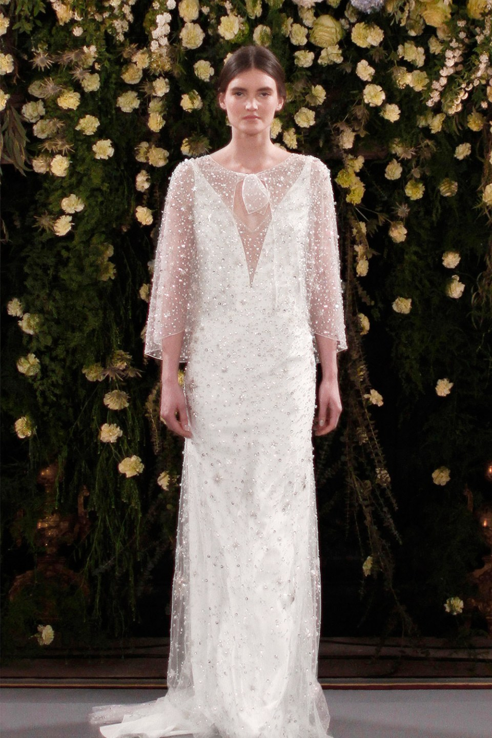 Moonflower and Meadow – Jenny Packham 2019 Bridal Collection. www.theweddingnotebook.com