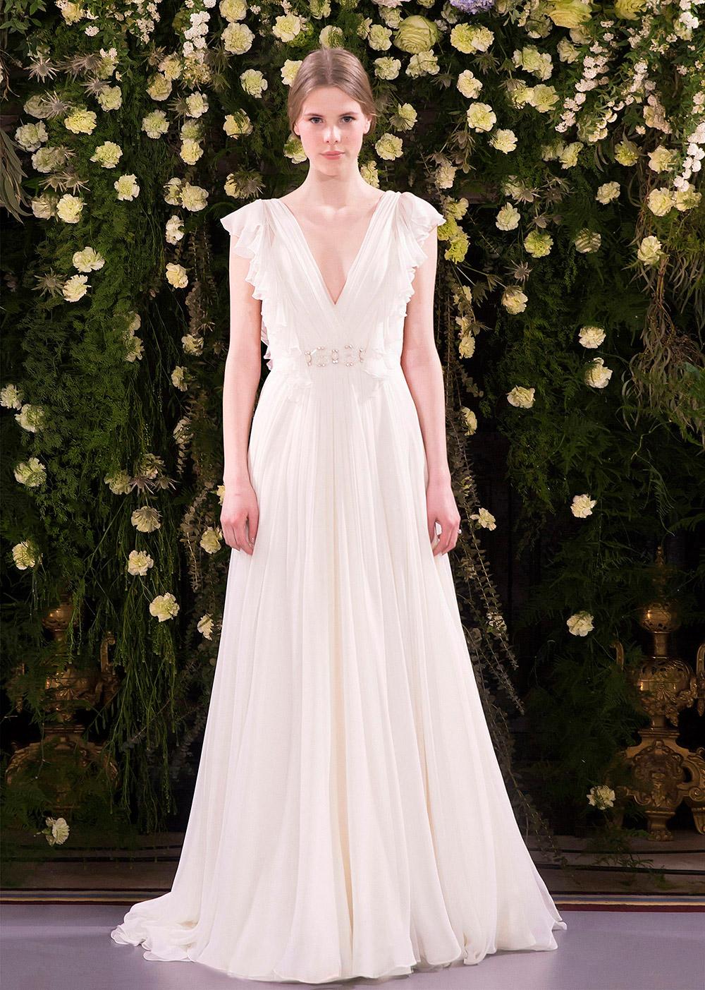 Julia – Jenny Packham 2019 Bridal Collection. www.theweddingnotebook.com