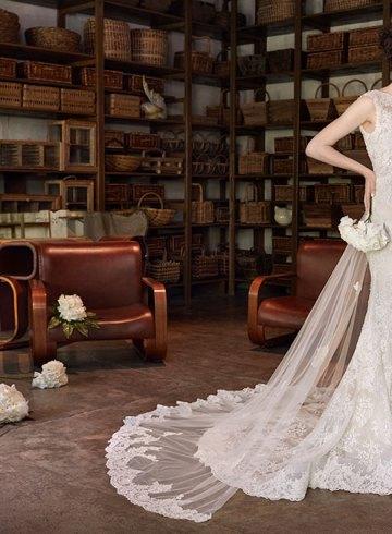 Lusan Mandongus 2018 Bridal Collection. www.theweddingnotebook.com