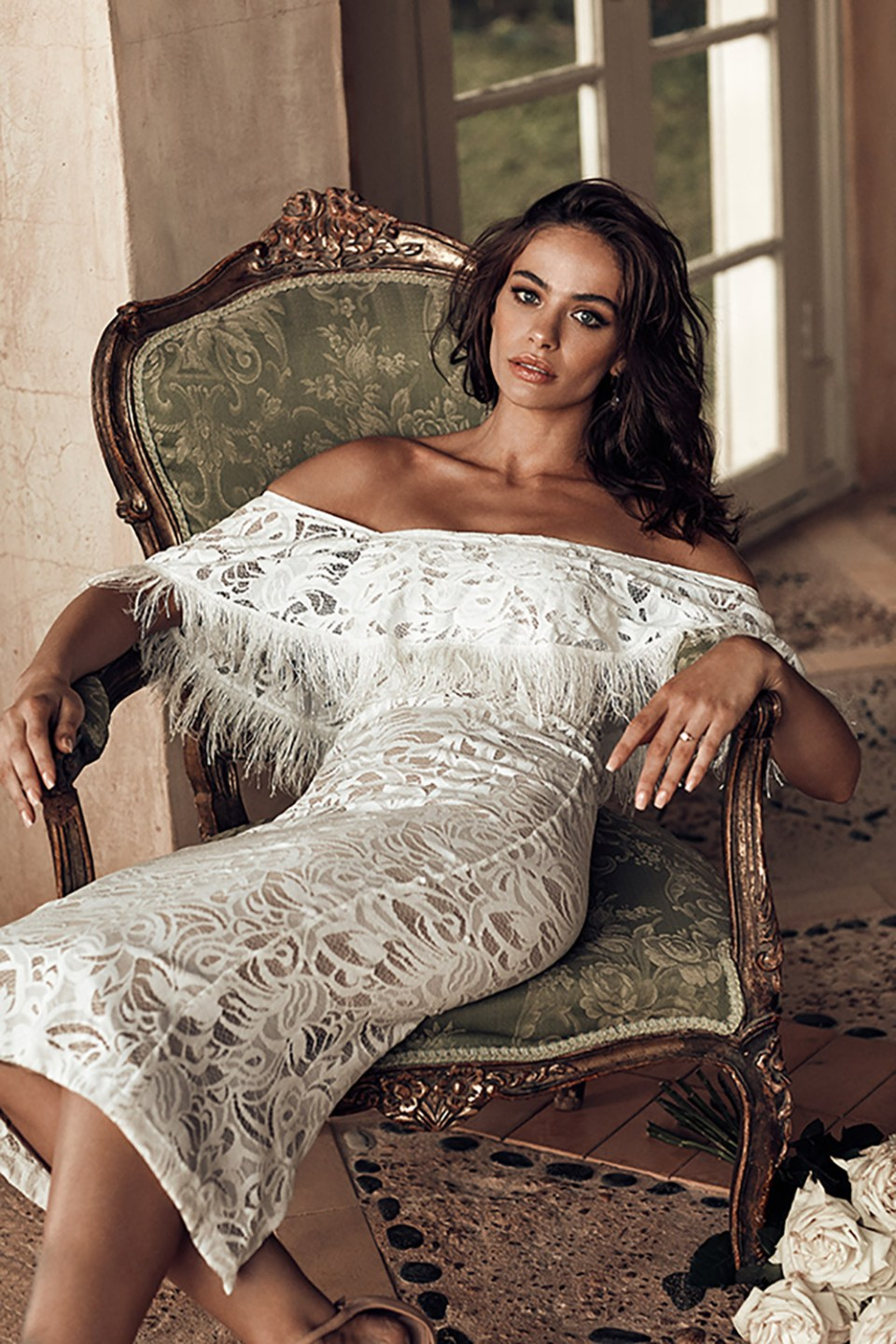Dominga - Grace Loves Lace 2018 Bridal Collection. www.theweddingnotebook.com