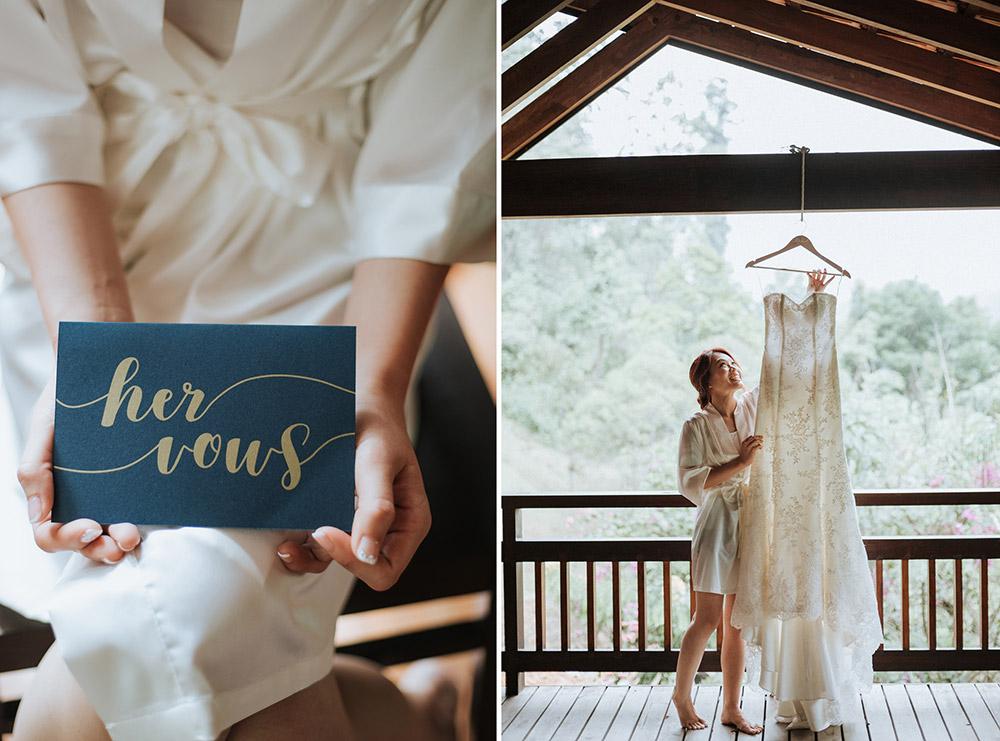 Elegant Blush And Navy Wedding At Enderong Resort And Tanarimba Janda Baik The Wedding Notebook Magazine