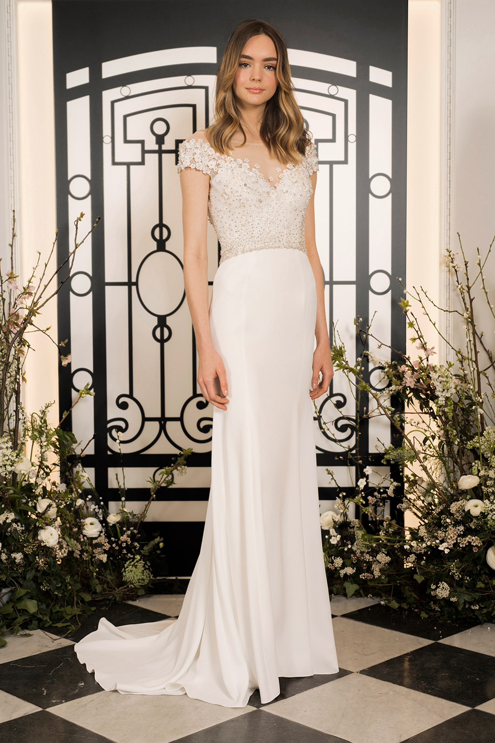 Simone - Jenny Packham 2020 Bridal Collection. www.theweddingnotebook.com