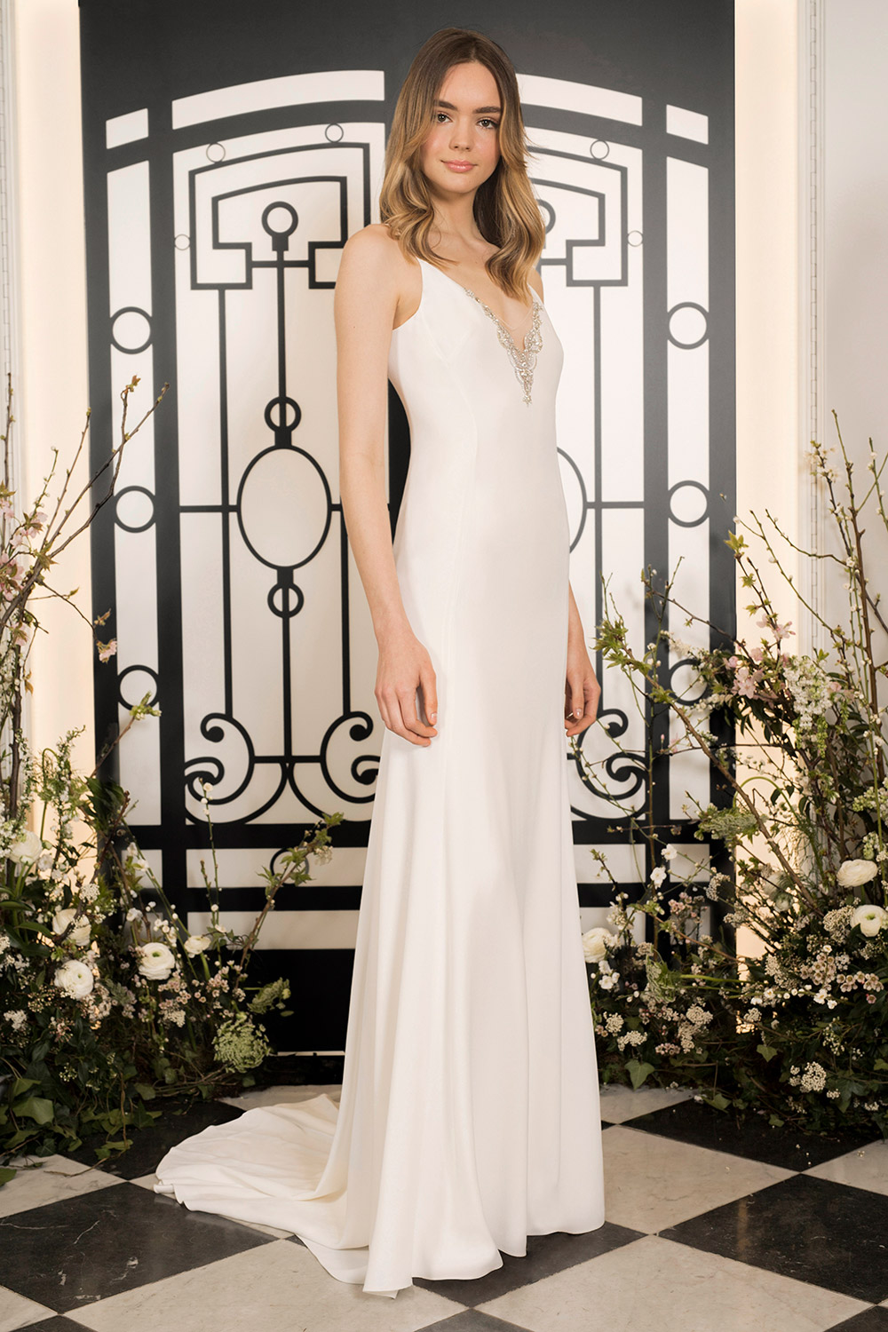 Larreta - Jenny Packham 2020 Bridal Collection. www.theweddingnotebook.com