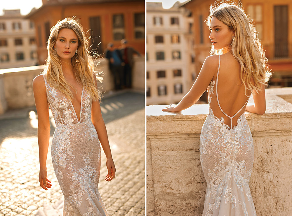 Berta Privee Spring 2020 Bridal Collection. www.theweddingnotebook.com