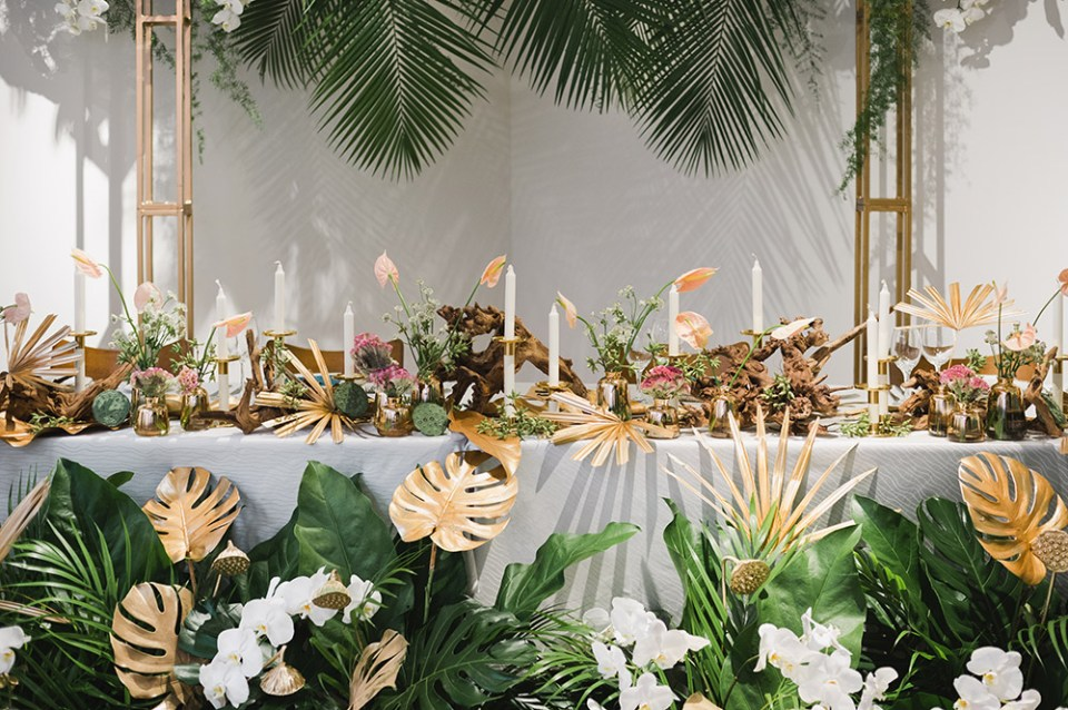 Concept by Tie The Knot. Floral by Darling Florist and Events. WAF - Weddings.Arts.Fashion. www.theweddingnotebook.com