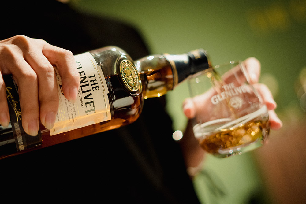 The Glenlivet for wedding