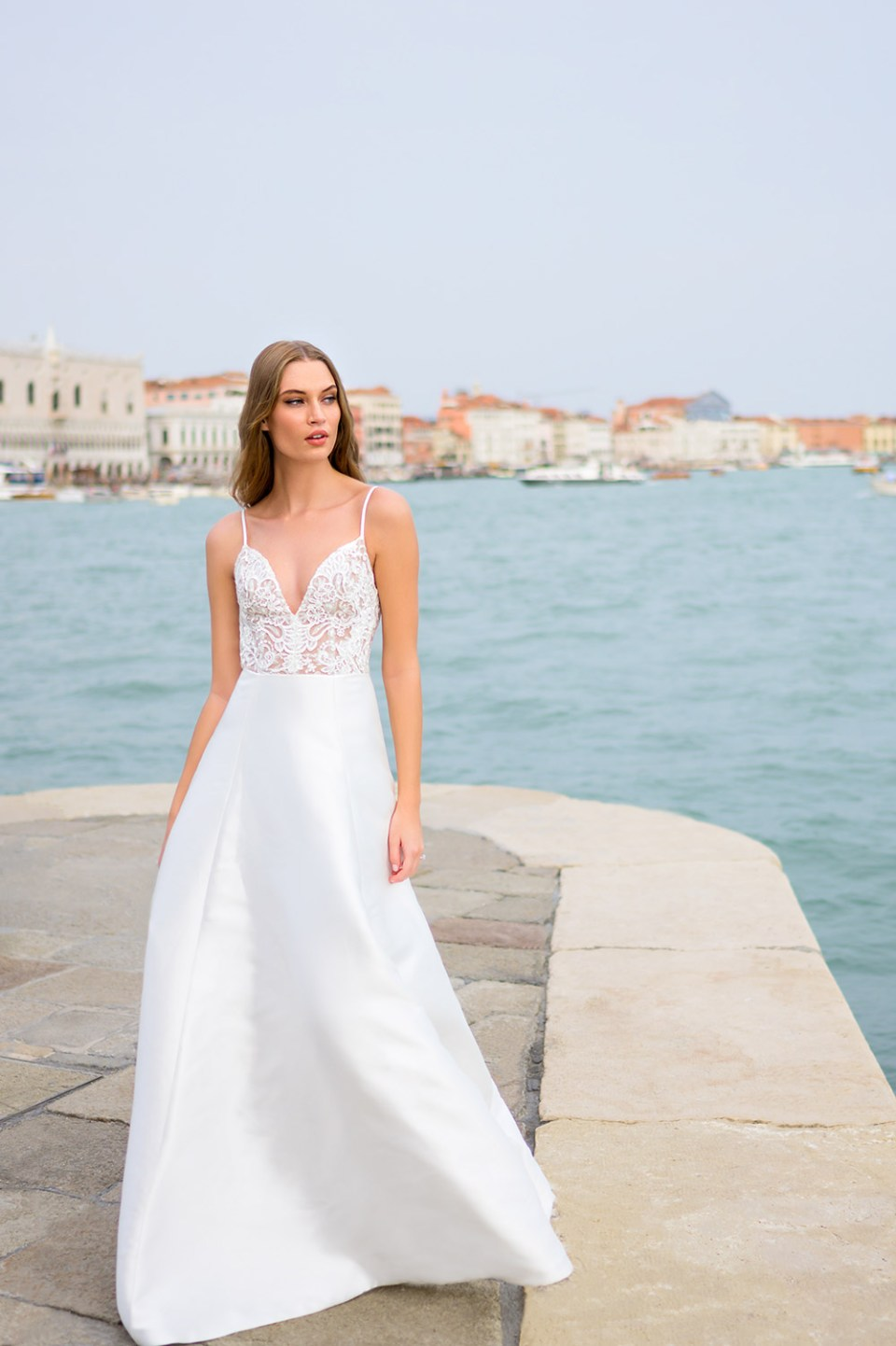 Bliss Monique Lhuillier Fall 2020 Bridal Collection. www.theweddingnotebook.com