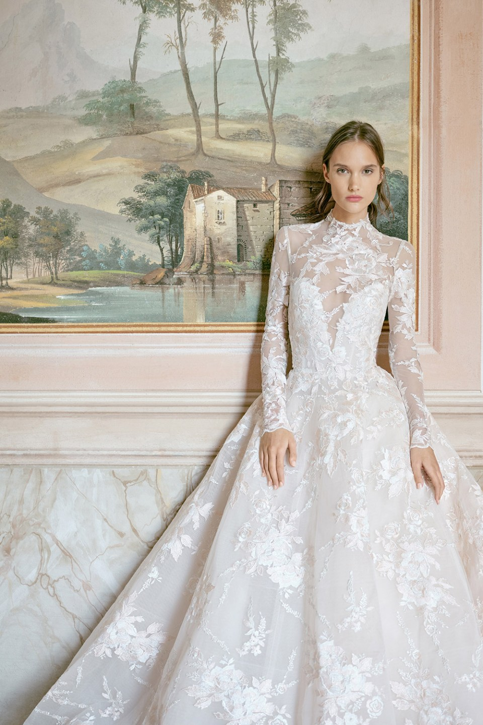 Wish - Monique Lhuillier Fall 2020 Bridal Collection. www.theweddingnotebook.com