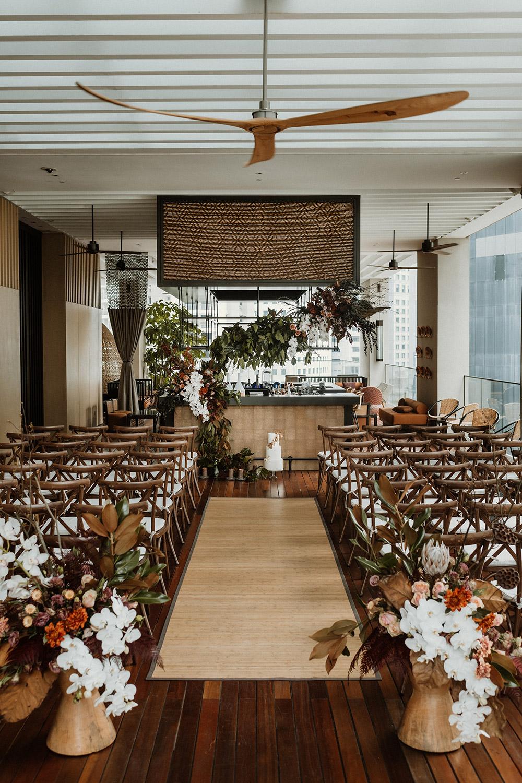 Interesting wedding ceremony venue in Kuala Lumpur– The RuMa Hotel and Residences. Peter Herman Photography. www.theweddingnotebook.com