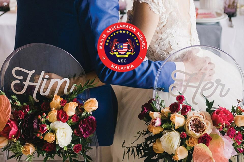 Malaysia Wedding SOP during Covid-19. www.theweddingnotebook.com