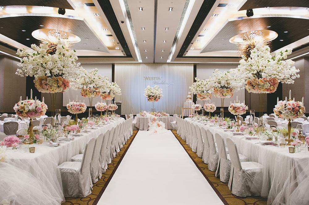 Joshua Koh Photography for The Westin Kuala Lumpur. www.theweddingnotebook.com