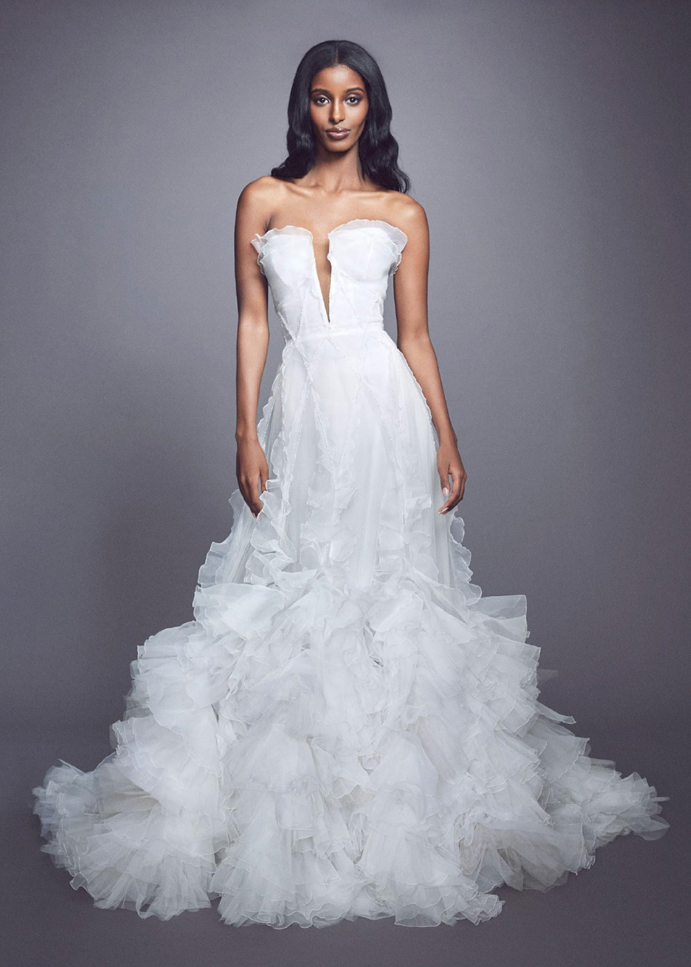 Marchesa Fall 2021 Bridal Collection. www.theweddingnotebook.com