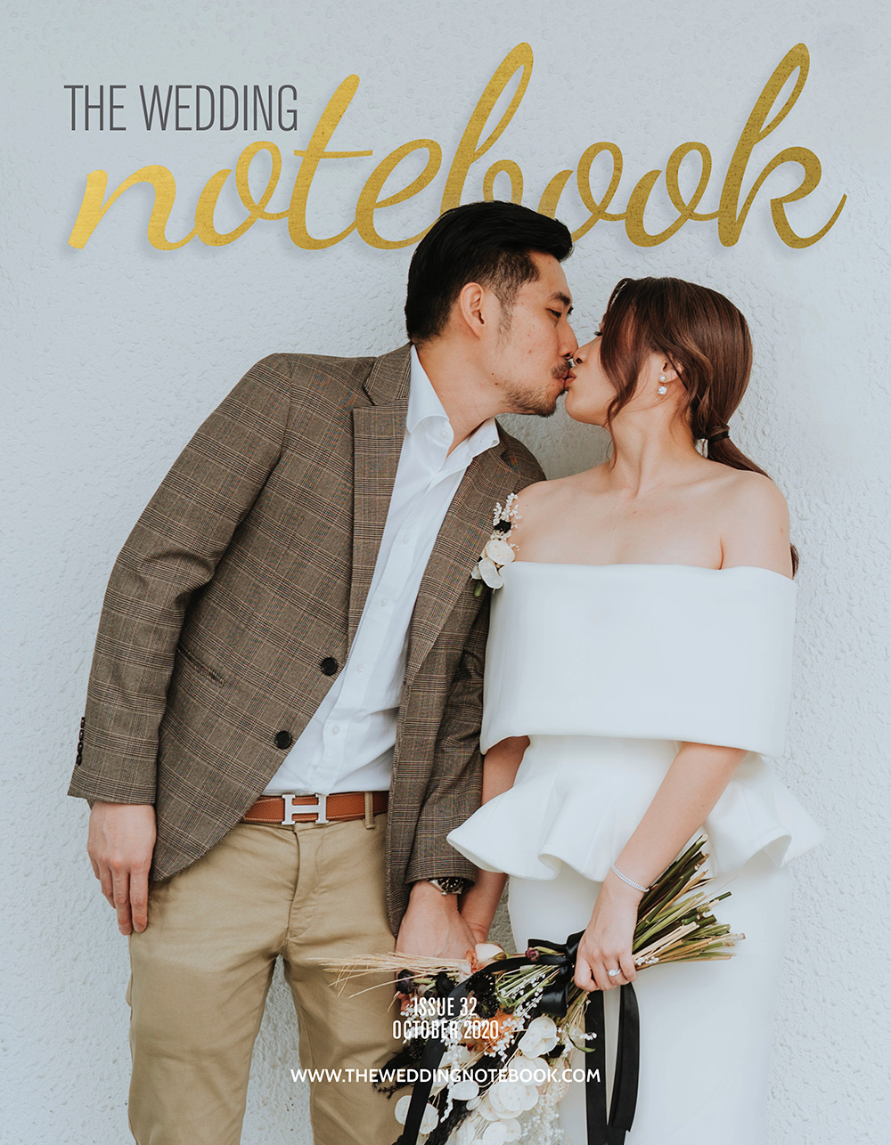 The Wedding Notebook October issue. www.theweddingnotebook.com