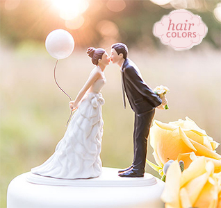 Wedding Cake Toppers   Wedding Cake Tops Balloon Kiss Bride   Groom Cake Topper