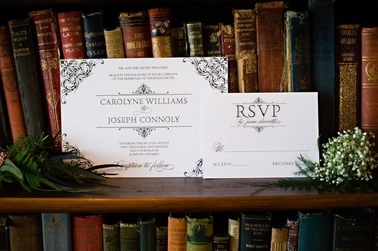 Stationery: PaperBoat Creations | Photo: HRM Photography | Venue: Elsie Perrin Williams Estate London