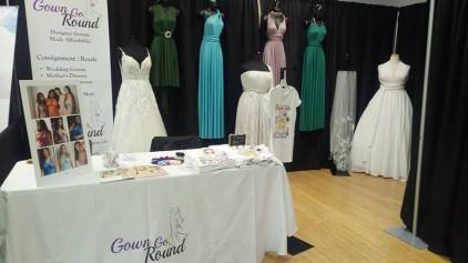 wedding dress Photo recap newmarket wedding expo