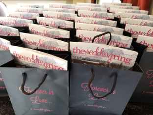 welcome bags and the wedding ring magazine sarnia wedding expo