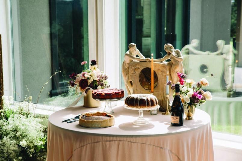 Cake: Passion for Cakes   Photo: Berkley Vopnfjörð Photography