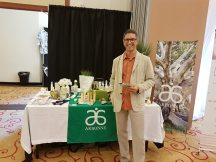 Andrew with Arbonne