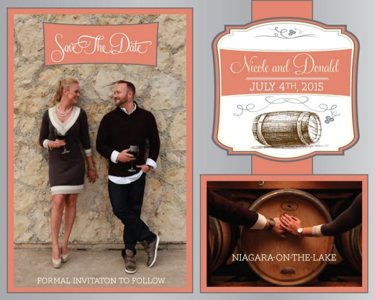 Winery Style Wedding Stationery | Willow and Grey Photography