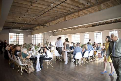 Venue: EVO Kitchen | Photo: Simply Wedding Photography