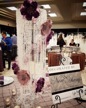 Now & Always Wedding and Event Decorating at Brantford Wedding Expo Jan 2016