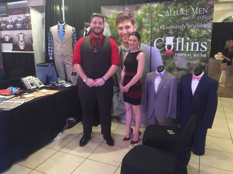 Collins Formalwear | Orillia Expo at Best Western Mariposa Inn