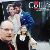 Sam from Music Central & Emily from Collins Formalwear | Photo: Sam from Music Central