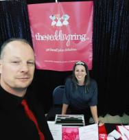 Sam from Music Central and Anne from The Wedding Ring | Photo: Sam from Music Central