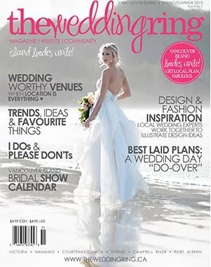 Vancouver Island Edition of The Wedding Ring Magazine