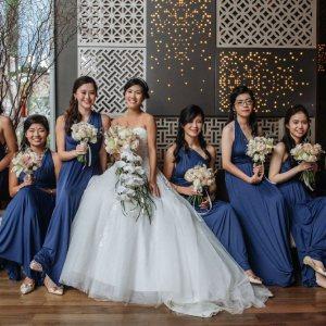 Bridesmaid Dresses Singapore