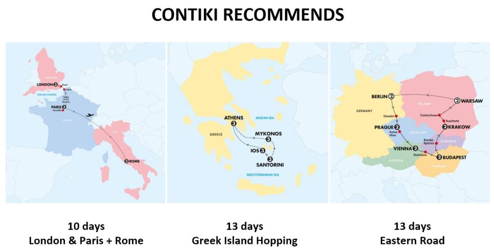 contiki recommends