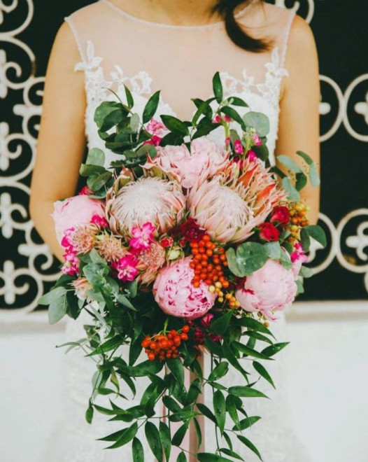 wedding florists singapore Triceratops