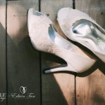 Beautifully Customized Wedding Shoes by Christy Ng