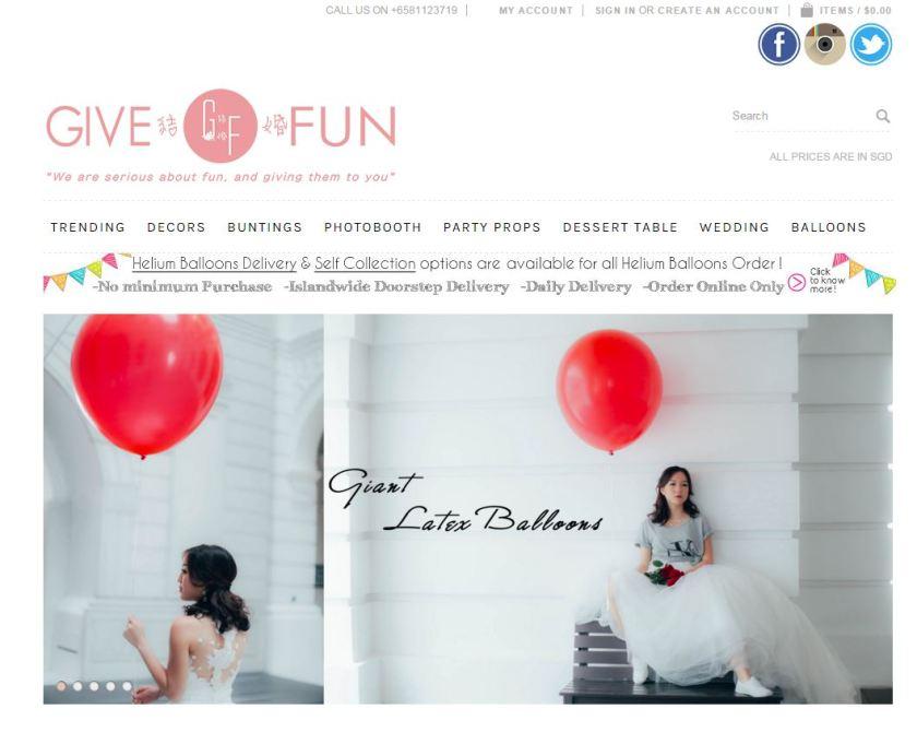 give fun sc