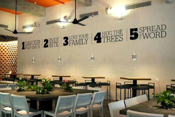 wedding venue singapore Food For Thought at Singapore Botanic Gardens