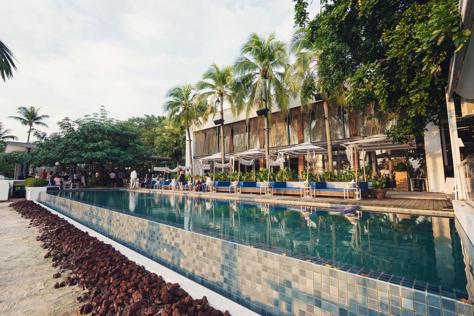 The Pool at Tanjong Beach Club | Photo Credits: Simplifai Studios