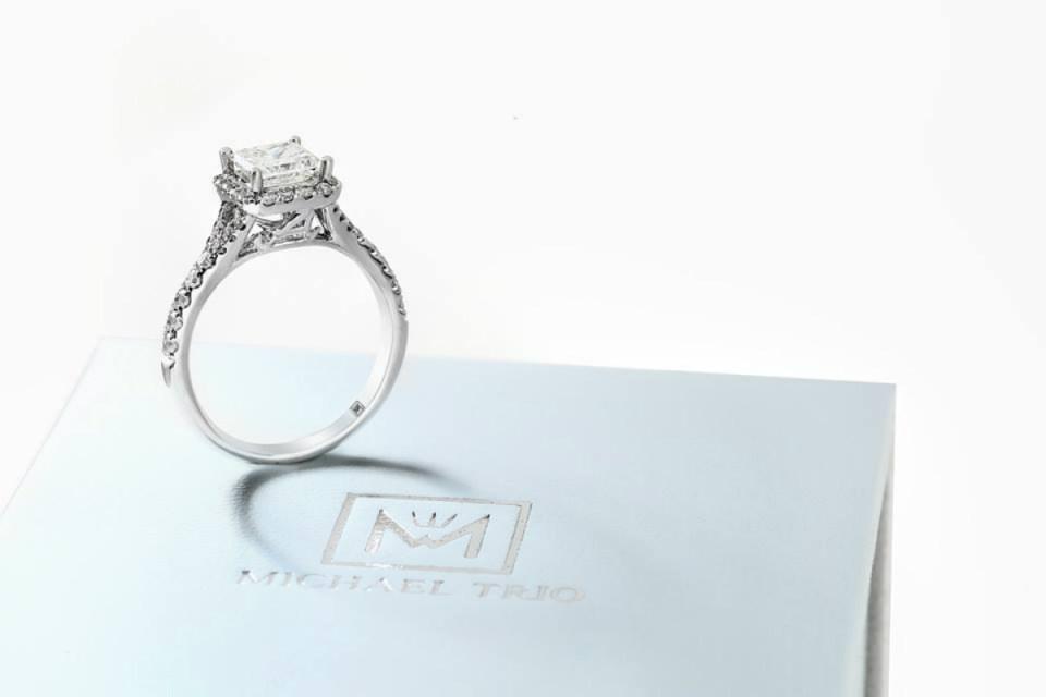 wedding ring michael trio