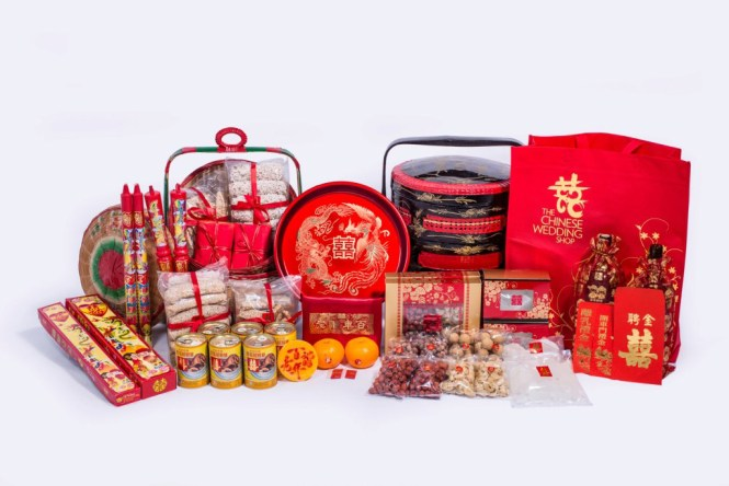 Top 10 shops to get your guo da li in singapore the wedding vow is a traditional chinese custom where families of soon to be married couples formally meet it is usually held two to four weeks before the wedding day junglespirit Image collections