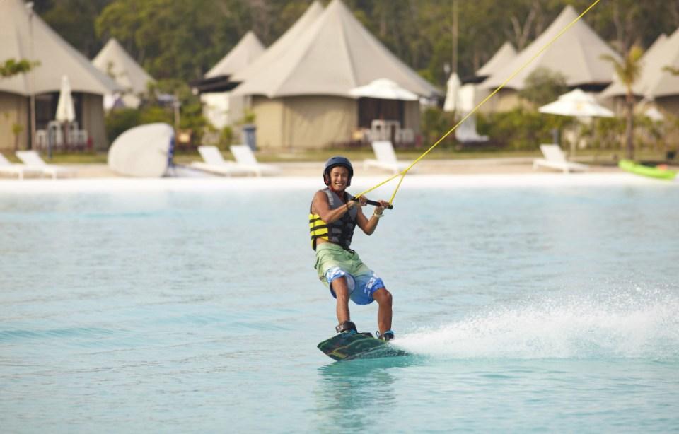 Treasure Bay Bintan Cable park Wakeboarding