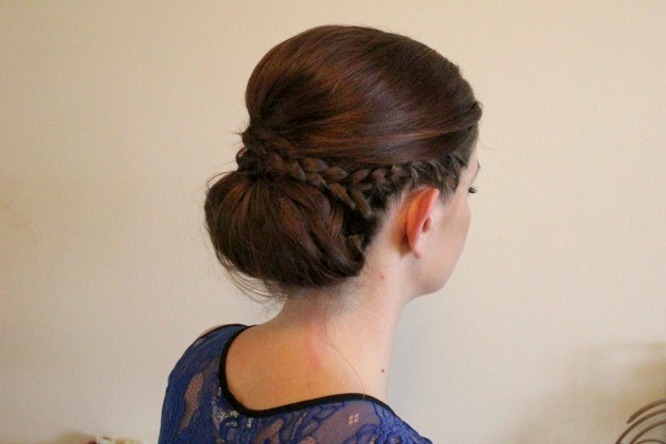 Kate Middleton-Inspired Bridal Hairstyle