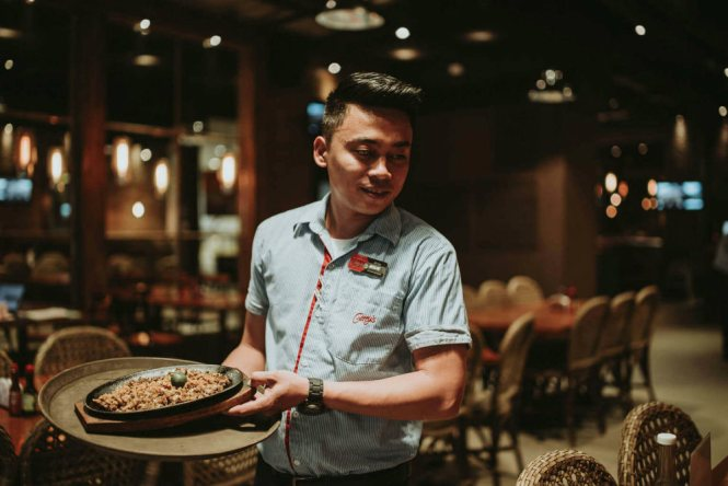 Gerry's Grill Sizzling Sisig