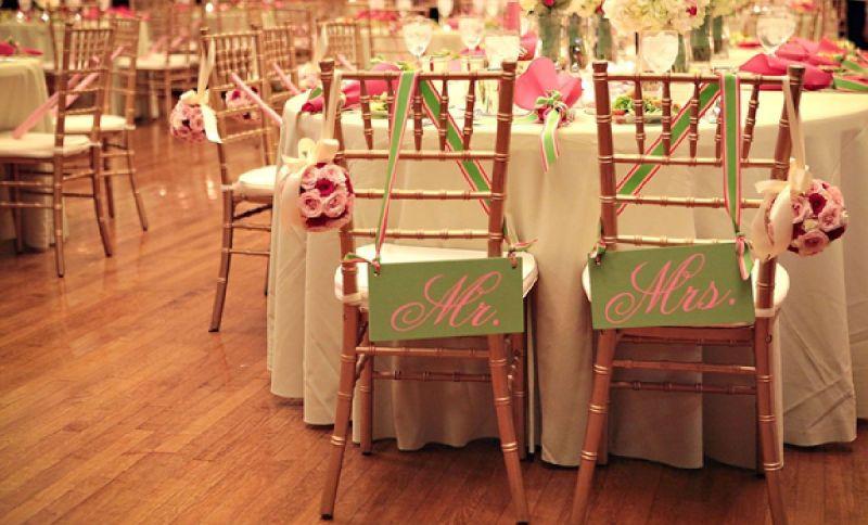rent wedding chairs