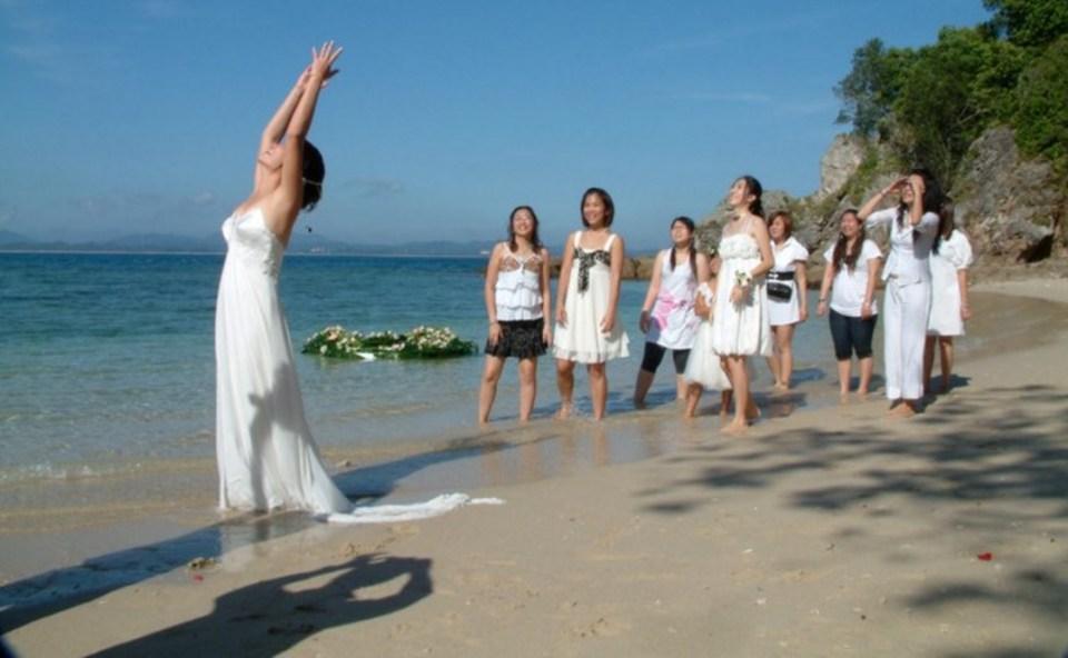 beach wedding venues malaysia - Gem Island Resort and Spa