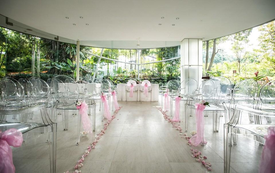 Amara Sanctuary Resort Sentosa Wedding - Glass Pavilion