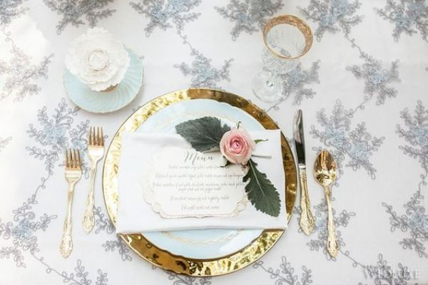 Top 12 disney wedding themes for disney brides all around for Sleeping beauty wedding table